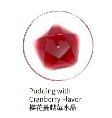 中文櫻花蔓越莓水晶